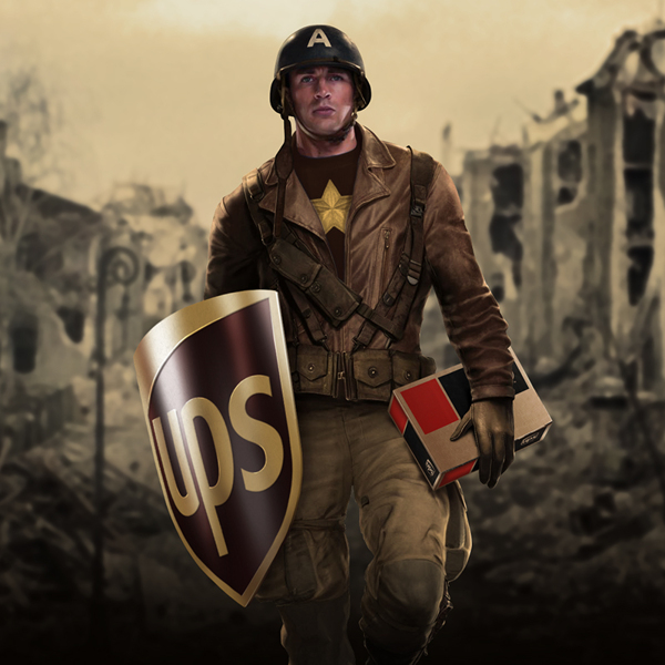 If Superheroes Were Sponsored By Brands DesignTAXIcom - Superheroes re imagined as if they were sponsored by big brands