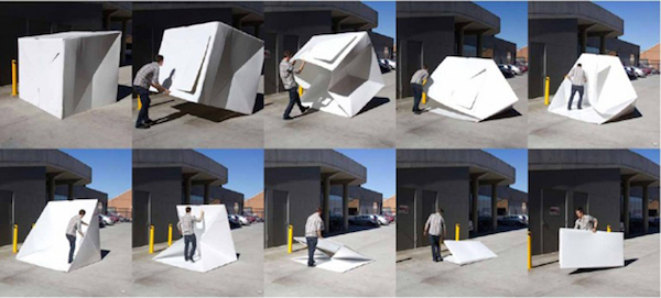 A Brilliant Modular Recyclable Shelter That Can Be Used In