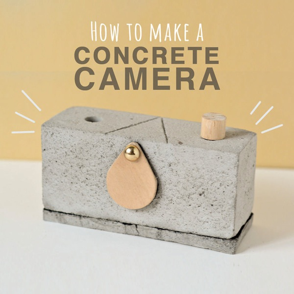 How to make your own concrete pinhole camera for Make your own cement