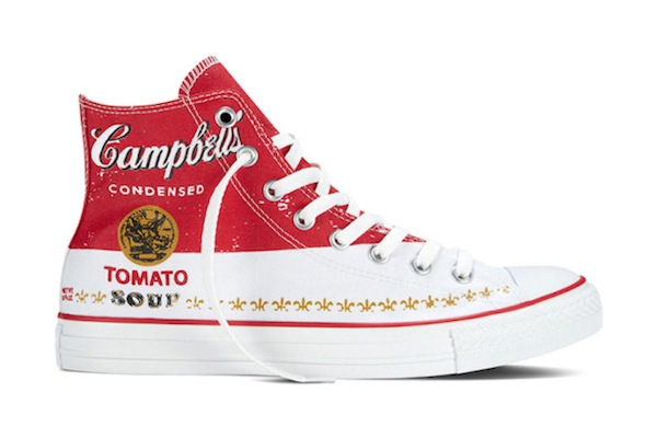 Converse Releases New Sneaker Designs Featuring Andy Warhol's Artworks