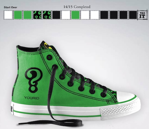 Dc And Converse Collaborate Let You Design Your Own