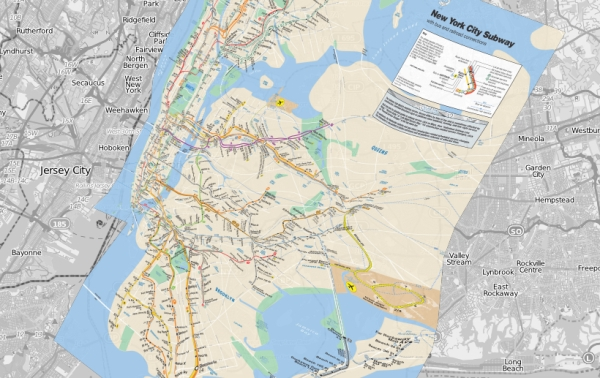 new york boroughs map with Geographically Correct Subway Maps Show The Real Layouts Of Cities on File Long Island statehood map besides New York City Nyc as well Bronx about further Nycgeography additionally Refereeing The Battle Over Manhattans Neighborhood Divisions.