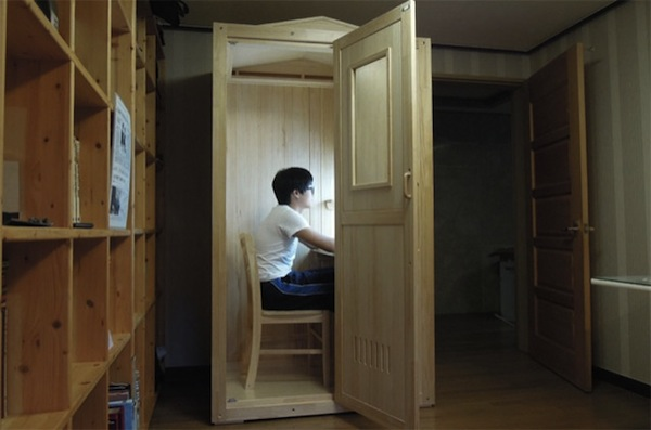 A Furniture Store In Korea Makes Tiny Study Cubicles For Students