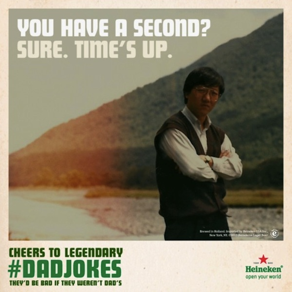 Heineken Gathers The Punny-Est, Cheesiest Dad Jokes For -1397