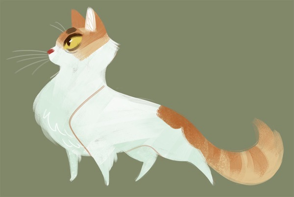 Liam Thinks A Tumblr Blog That Features A Cute Cat Drawing Every Day
