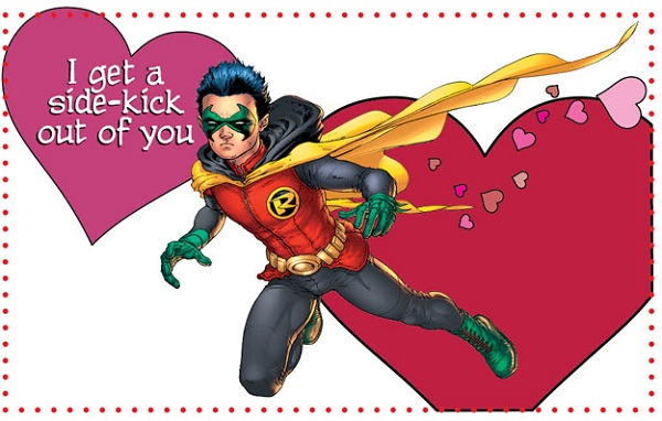 DC Comics Releases Cheesy Valentines Day Cards For Geeks – Cheesy Valentines Day Cards