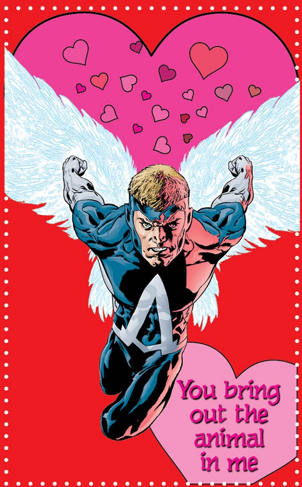 Dc Comics Releases Cheesy Valentine S Day Cards For Geeks