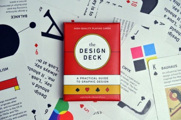 A Beautiful Educational Deck Of Graphic Design Playing Cards For Designers