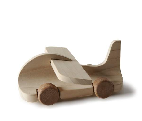 100 Designers Create 100 Wooden Toy Cars - DesignTAXI.com