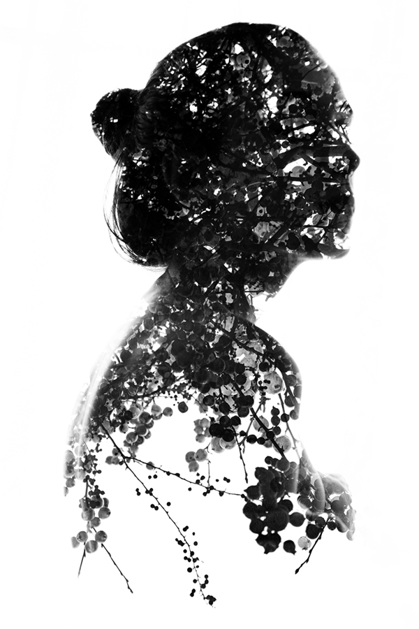 Compelling, Introspective Double Exposure Shots of People