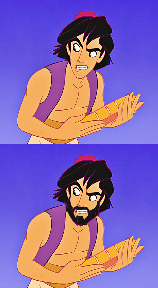 2 Male Cartoon Characters : Male disney characters hilariously imagined with and