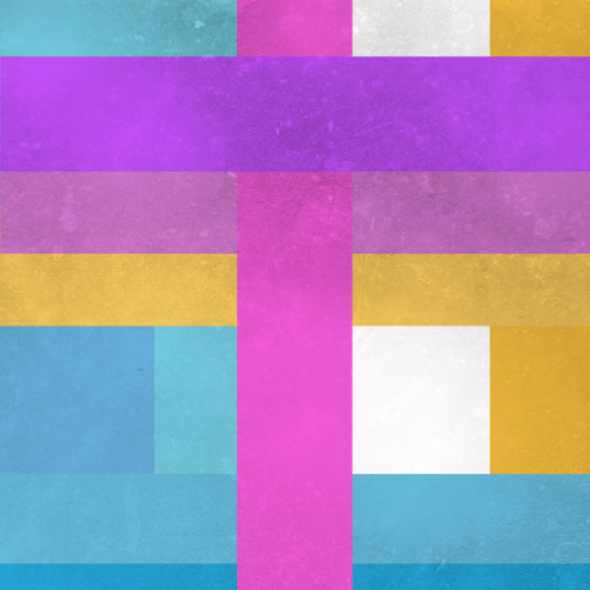 Colorful Minimalist Design: Abstract, Minimalist Artworks Based On The Colors Of