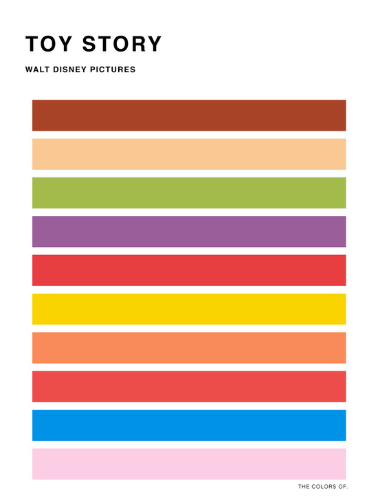 Minimalist Posters Showcase The Vibrant Color Palettes Of ...