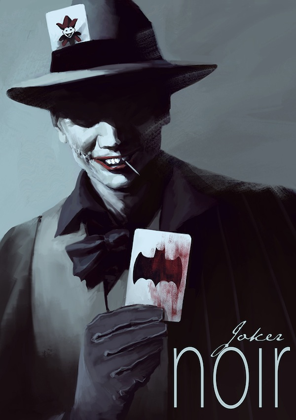 Sleek Film Noir-Inspired Illustrations Of 'Batman' Characters ...