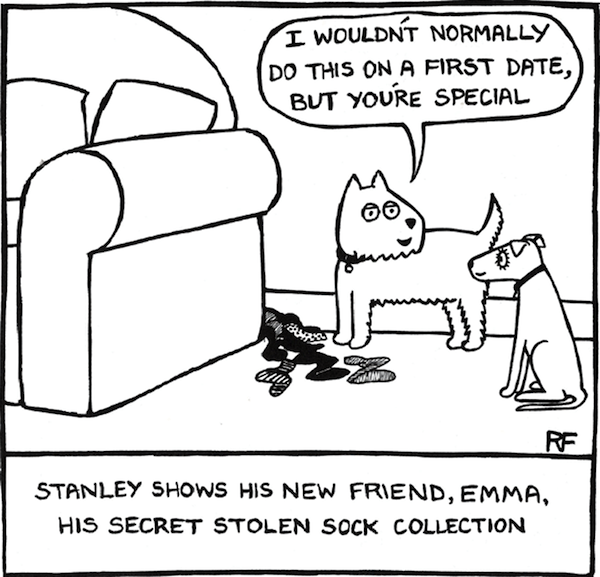 lol  comics reveal the humorous secret thoughts  conversations of dogs