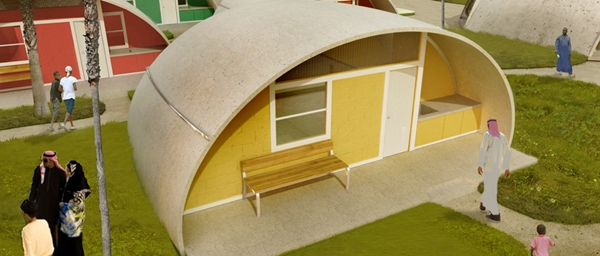 Affordable Colorful Dome Shaped Houses That Are Made Of