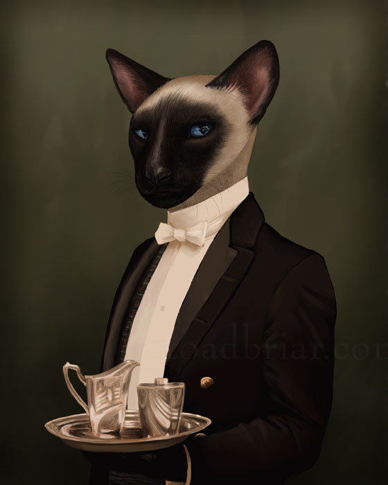 Fun Paintings Reimagine Characters Of Downton Abbey As