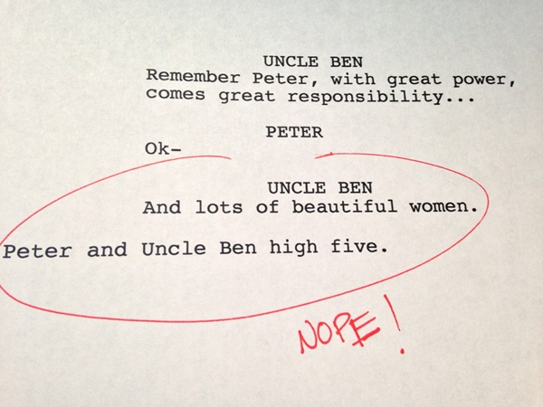 Hilarious First Drafts Of Popular Shows That Never Made It To The Big Screen