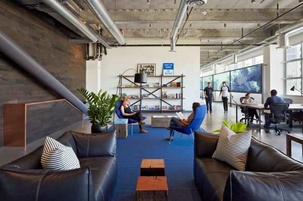 Inside Dropbox's Freshly Designed Office Space In San Francisco