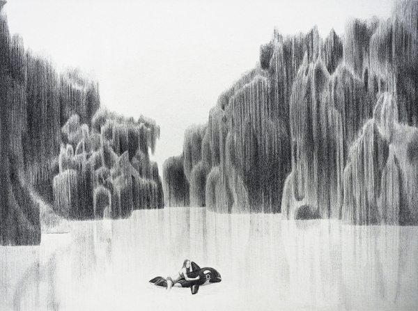 Gorgeous Black And White Drawings Of Nature Scenes That Possess A Quiet Beauty