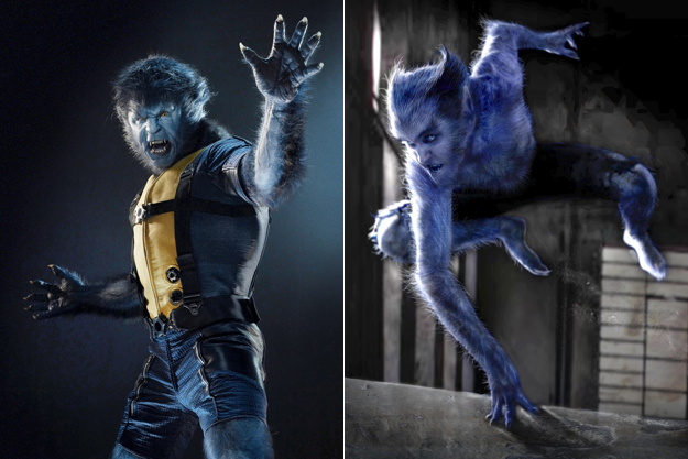 X Men First Class Beast The Early Character Sk...