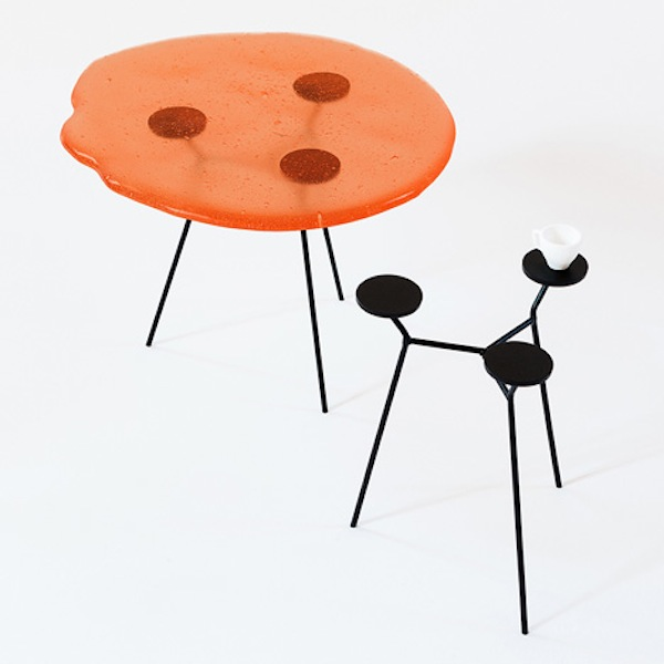 Edible chairs tables you can have your chocolate chair for Coffee tables you can eat on