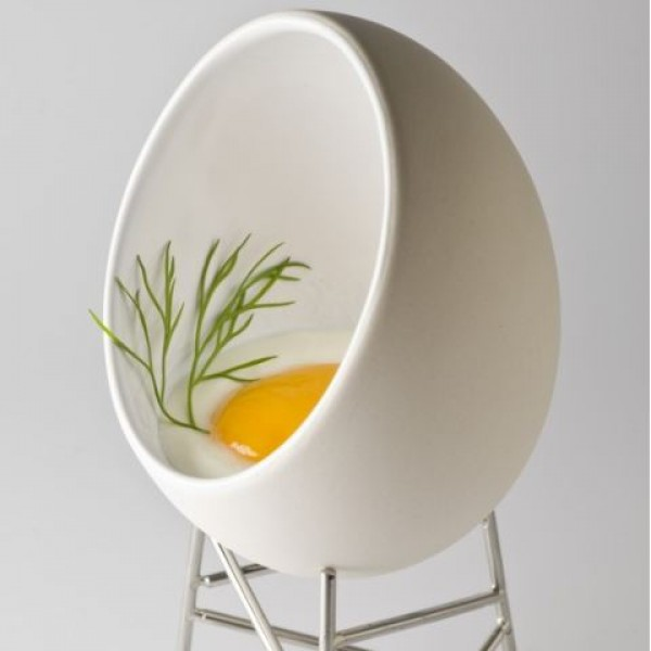 The Popular Breakfast Food Inspired Iconic Shaped Egg Chairs These Further Designer Christian Ghion To Create For Eggs