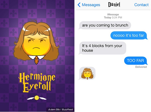 These Harry Potter Emojis Will Make Texting More 'Magical
