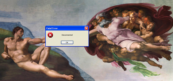Artist Inserts Pop-Up Windows & Social Media Icons Into Famous Paintings | ghantagiri.com
