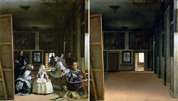 What Famous Paintings Look Like When The People In Them Are Removed