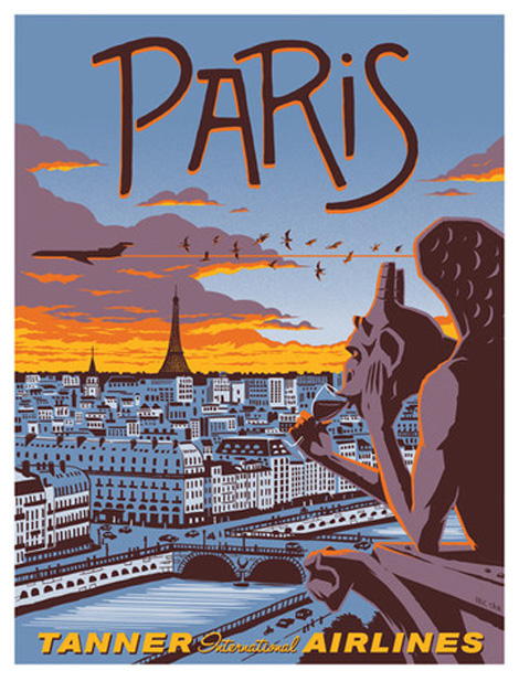 vintage travel posters...