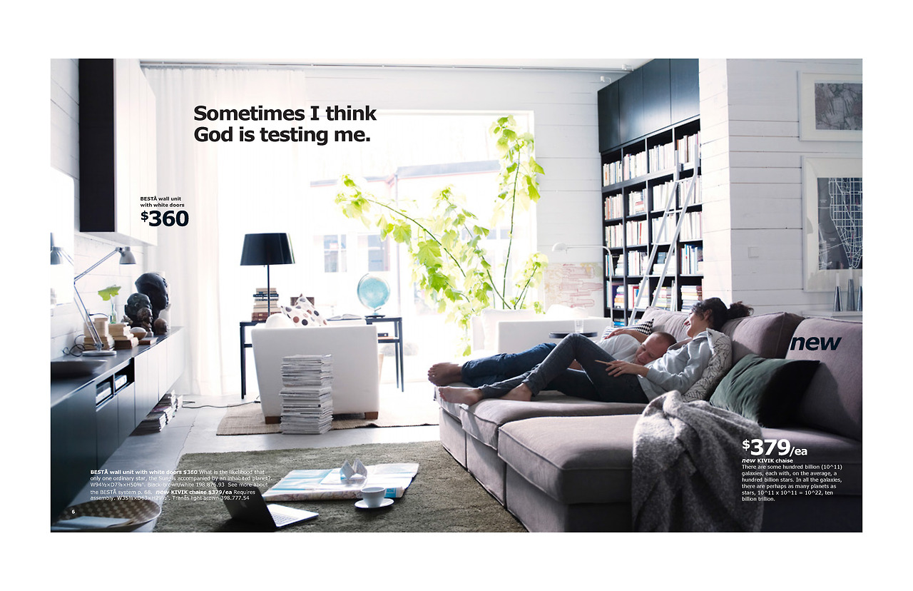 The 2014 Ikea Catalog Edited With Absurd And Existential