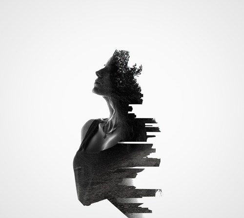 Erkin demir focuses mainly on fashion photography but he has done plenty of other works on the side such as this series of multiple exposure photos