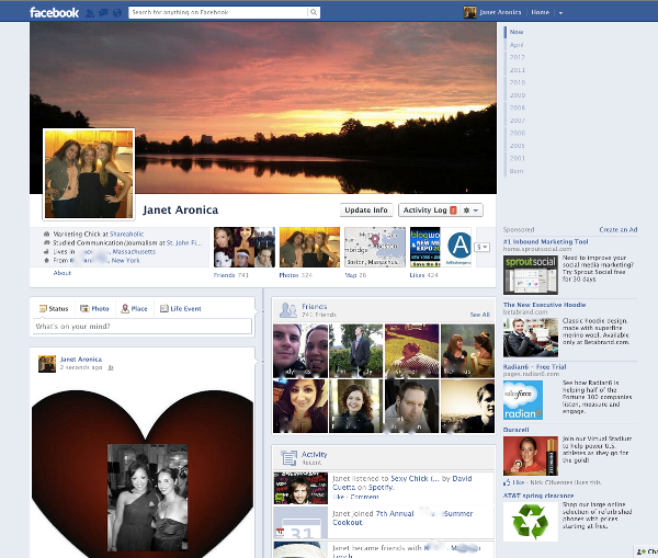 What Facebook Looked Like 10 Years Ago