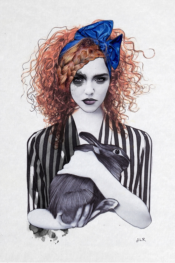 Whimsical Fashion Illustrations That Are Inspired By