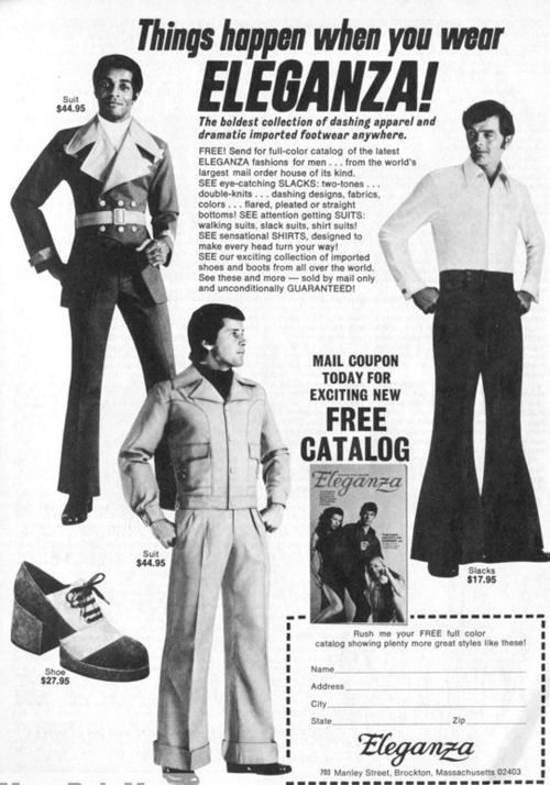Groovy Fashion Ads From The 70s Designtaxi Com