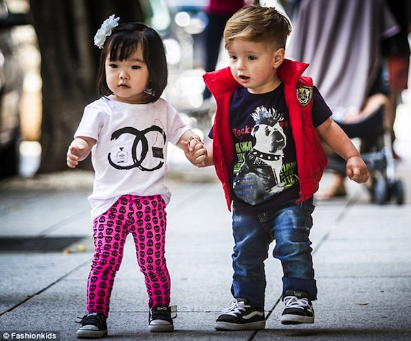 An Instagram Account That Showcases Fashionable And Stylish Kids