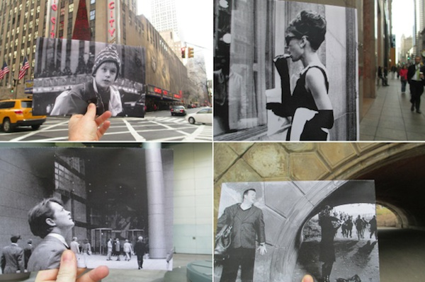 Movie Scenes Matched To Their Actual Sites In New York