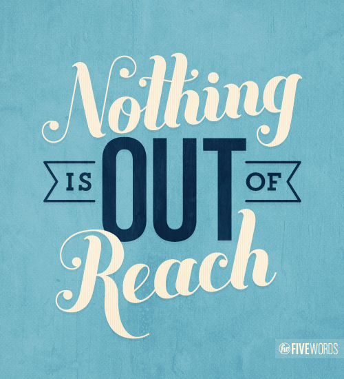 Motivational Quotes About Success: Inspirational Typographic Quotes, Created With Only Five