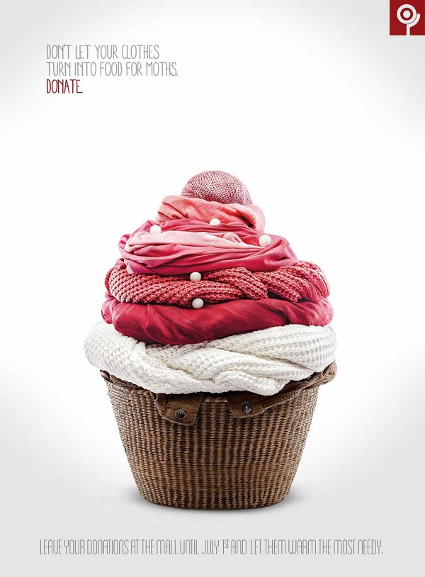 A Clever Ad Campaign That Features Food Sculptures Made ...