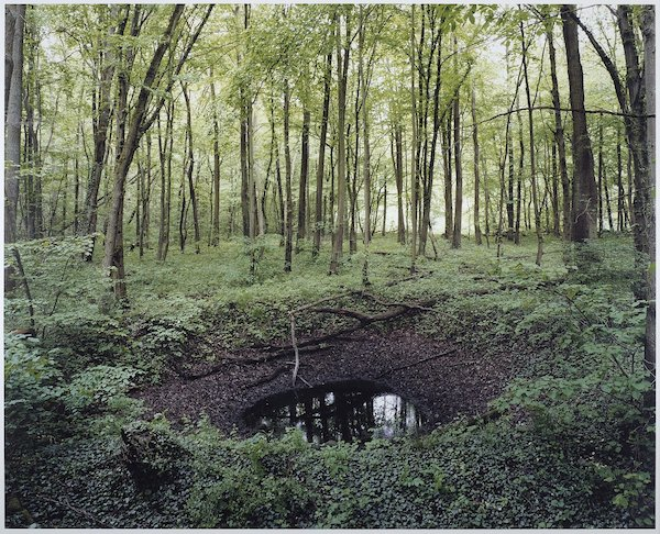 "Photos of Old ""Scars"" Created By WWII Bombs"