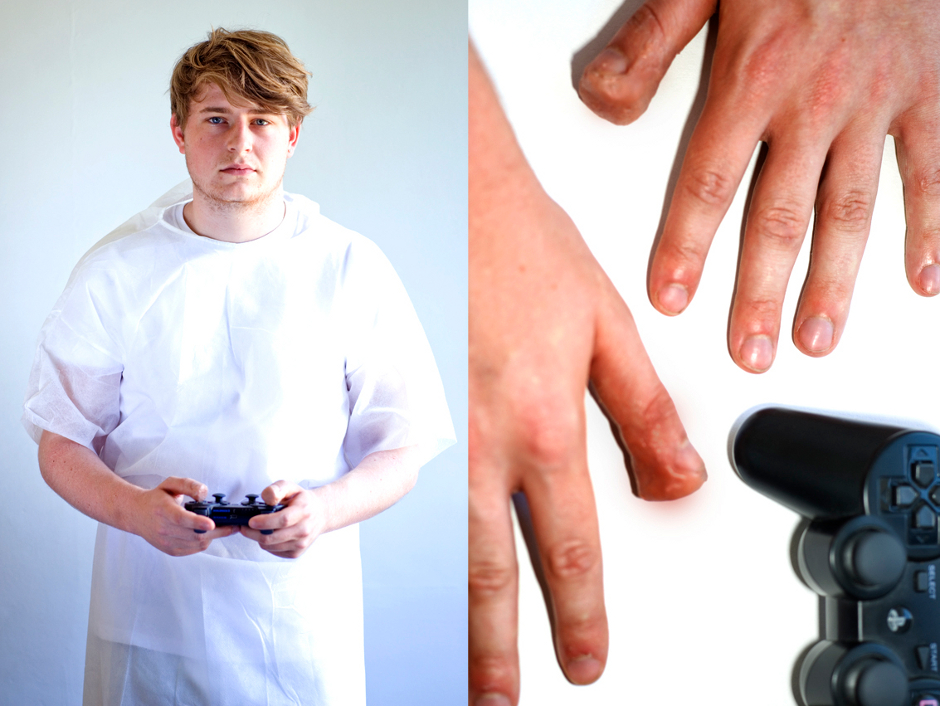 Photo Series Explores Physical Diseases Connected to Video Games ...