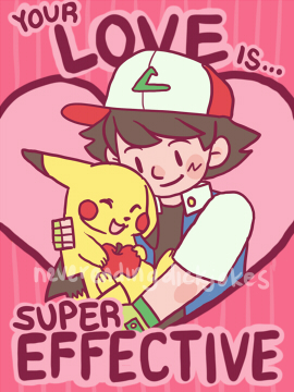 ... Has Created A Series Of Valentineu0027s Day Cards Inspired By Fictional  Characters From Marvel Comics, Sherlock Holmes, Pokémon, Ace Attorney, DC  Comics: