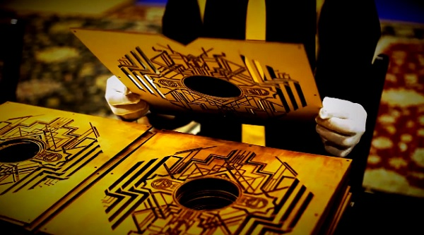 Limited Edition The Great Gatsby Vinyls Made From Gold
