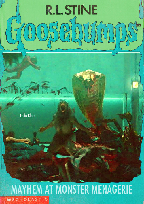 popular horror films depicted as  u2018goosebumps u2019 book covers