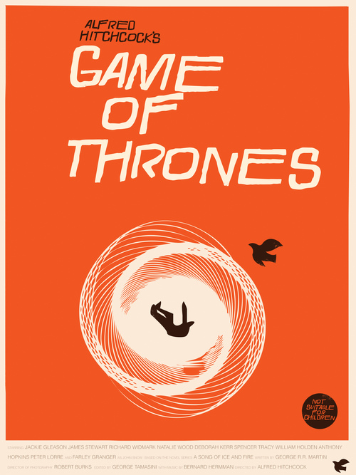 u2018game of thrones u2019 art prints in the style of saul bass