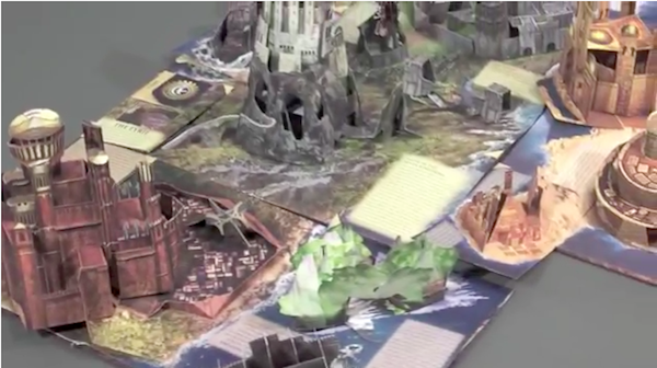 Liam Thinks An Immersive Game Of Thrones Pop Up Book That Brings