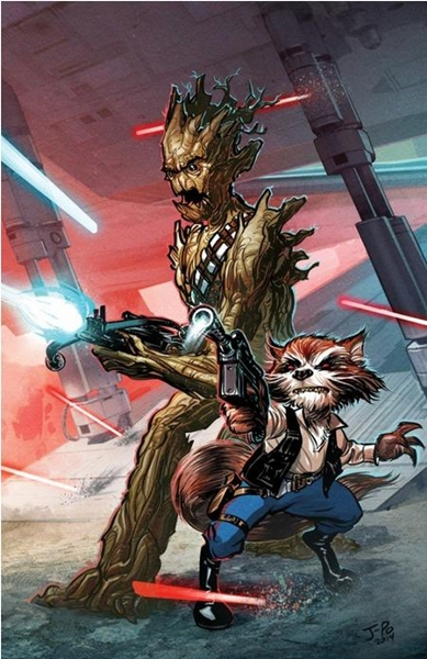 Awesome Fan Art Of Rocket Groot From 'Guardians Of The Galaxy'