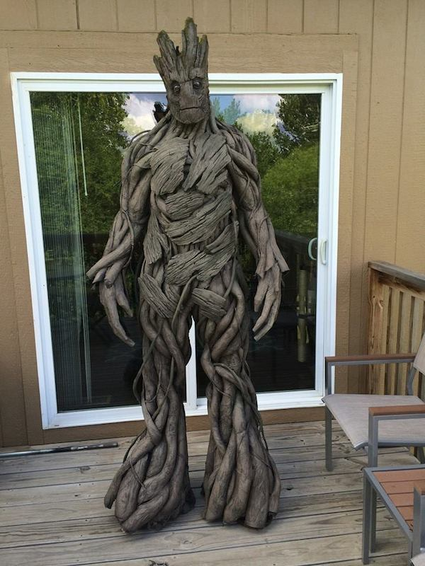 Incredibly realistic groot costume that costs less than 100 to incredibly realistic groot costume that costs less than 100 to make designtaxi solutioingenieria Gallery