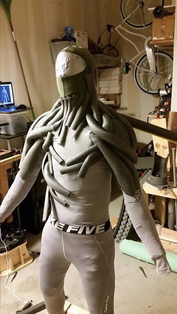 incredibly realistic �groot� costume that costs less than